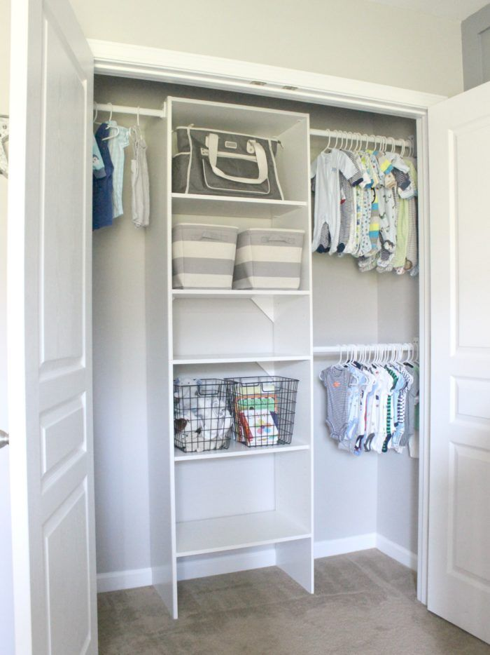 ideas nursery hacks easy closet for small diy baby pin and closets organization pictures