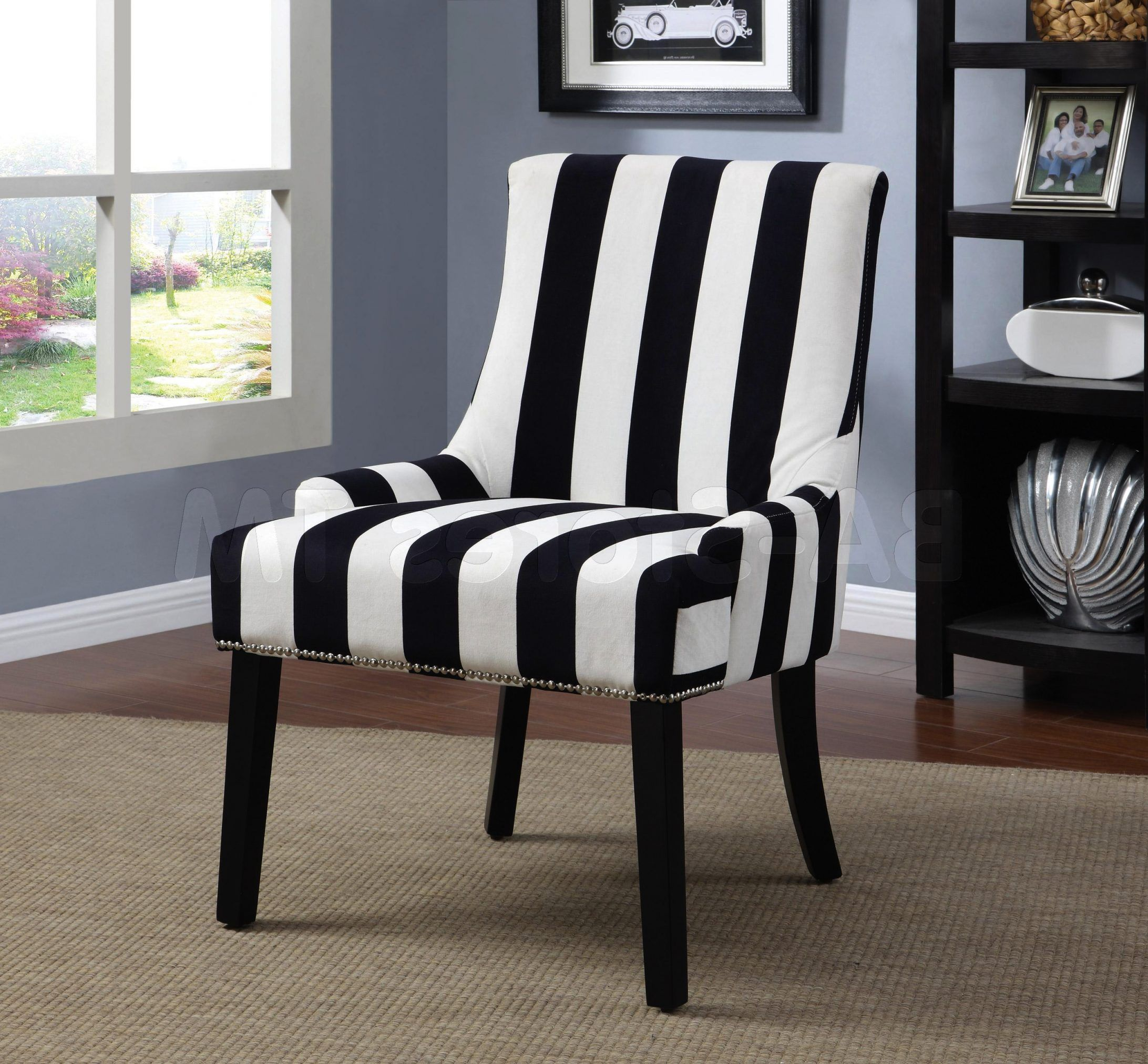 Black White Accent Chair Stühle Pinterest Accent Chairs White