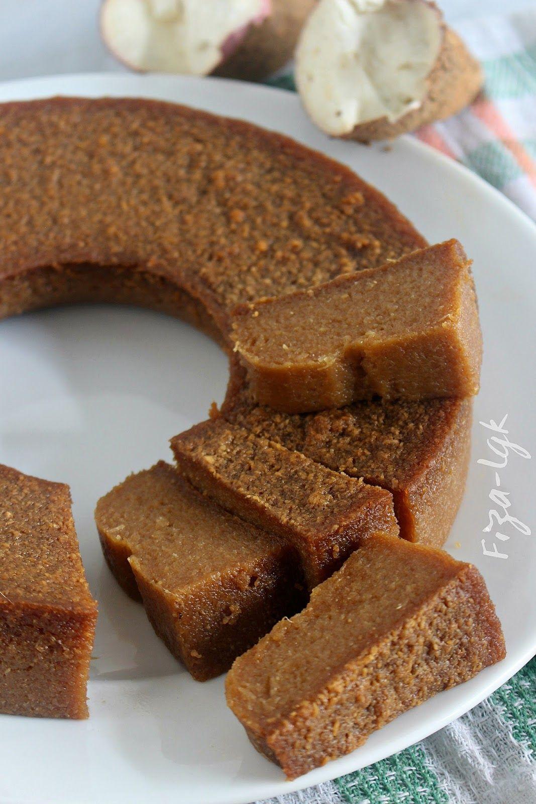 Bingka Ubi Kayu Gula Merah Fiza S Cooking Makanan Kue Lezat Makanan Manis