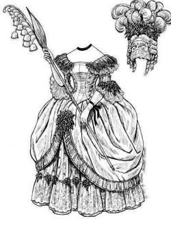 New Orleans Belle - 1837   Gabi's Paper Dolls