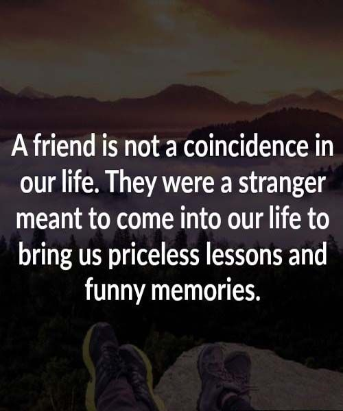 Friendship Memories Quotes: Friends Give Priceless Lesson And Funny Memories