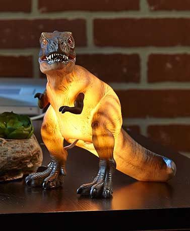 Ceramic Dinosaur Lamps Accent Lighting T Rex Brachiosaurus