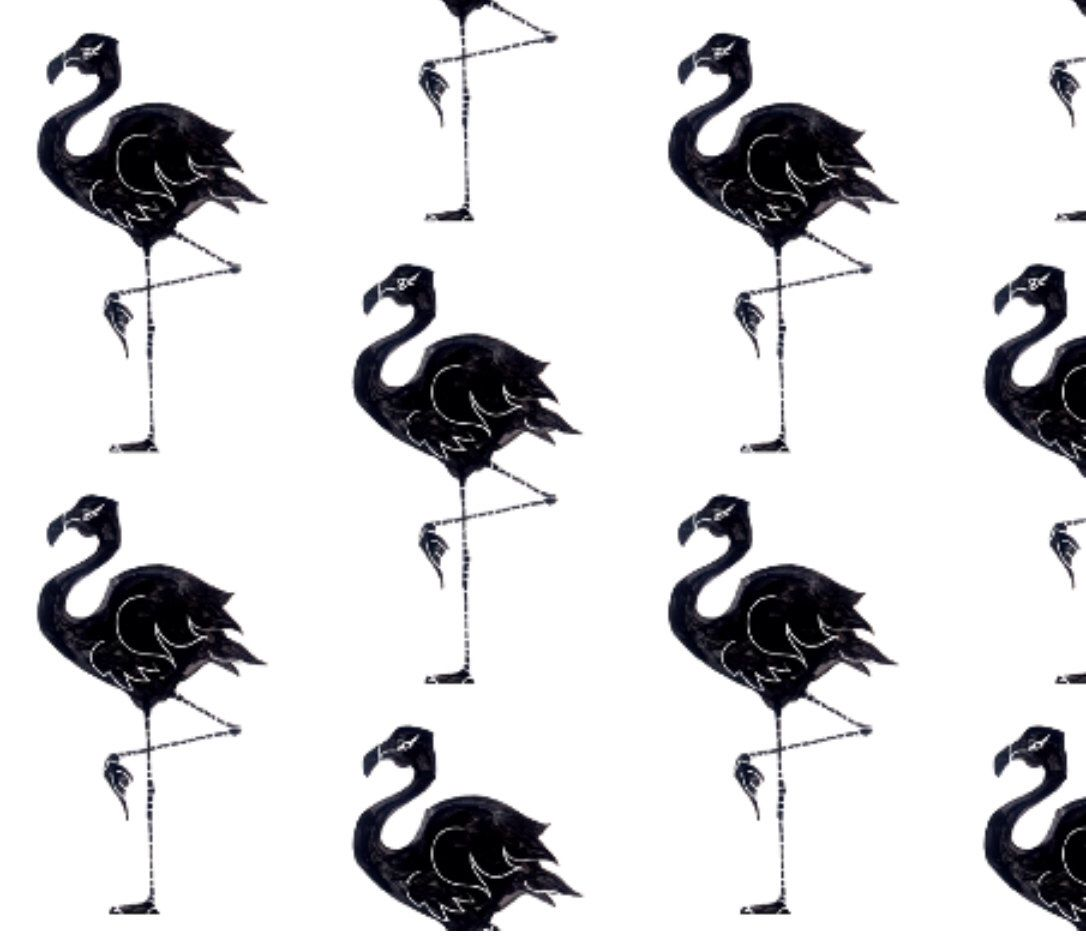 Little Woolf Contour Changing Pad Cover in Watercolor Black Flamingo, Gender Neutral, Boy, Girl, Organic, Cover, Eco Friendly by littlewoolf on Etsy https://www.etsy.com/listing/224877338/little-woolf-contour-changing-pad-cover