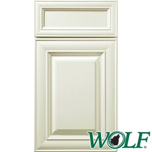 10x10 Wolf Cabinets Hudson Series Antique White Paint