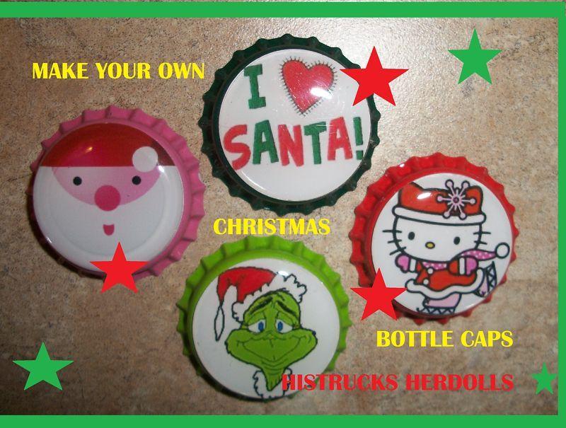 holiday bottle cap crafts - Bing Images