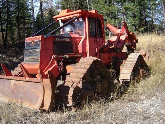 Timberjack 430C tracked skidder | logging | Logging