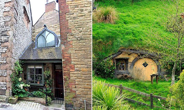 Cottage in Derby bears striking resemblance to a hobbit housein Middle…