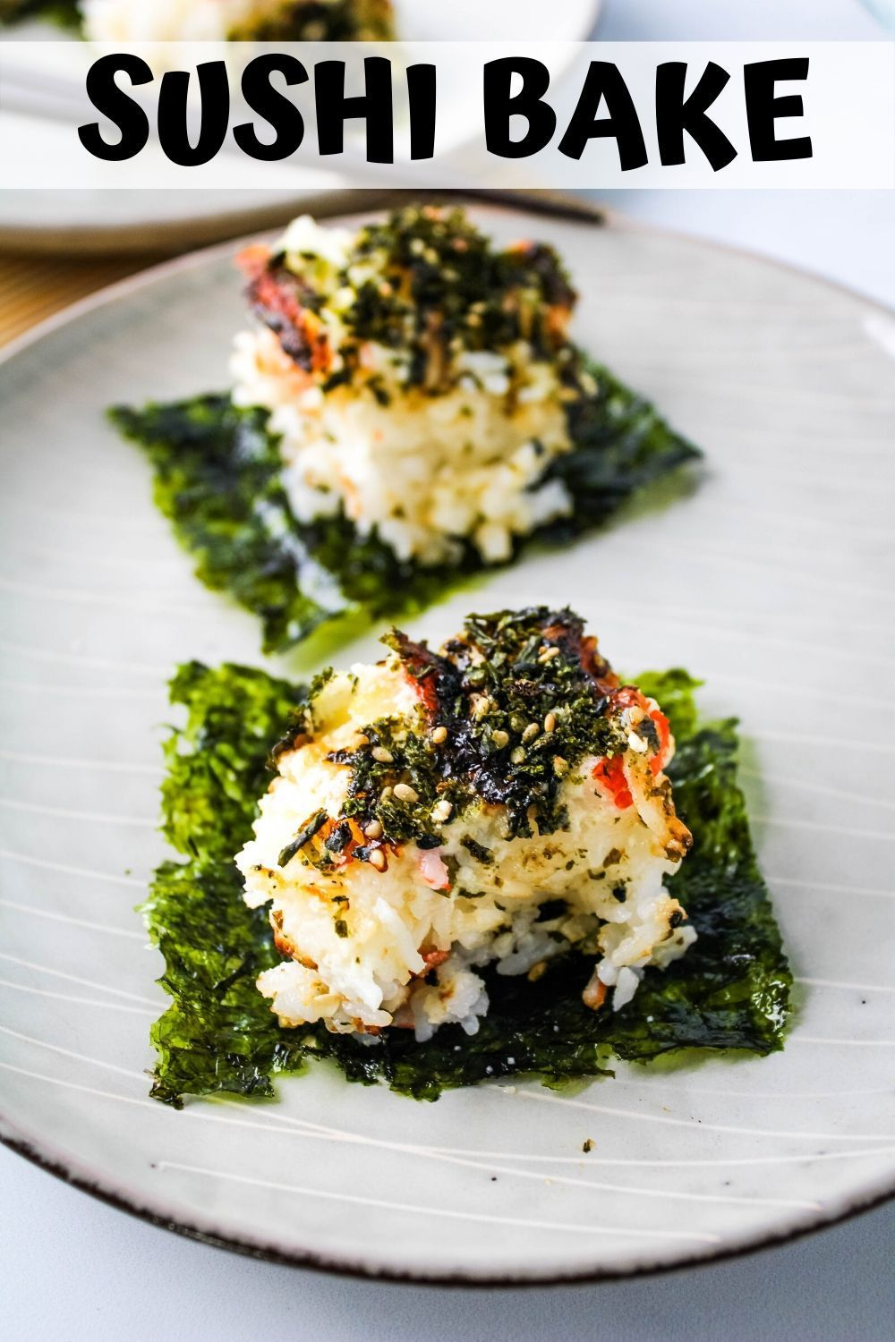Easy Sushi Bake Recipe - Keeping It Relle