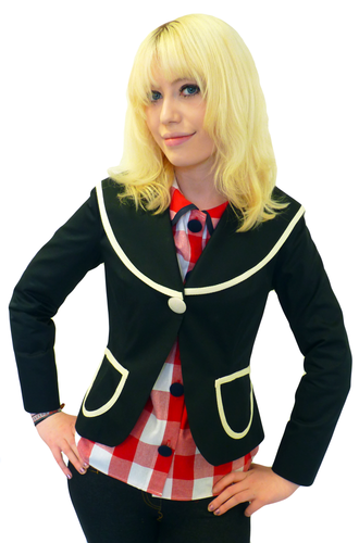 Womens Retro 'Sailor' Jacket by Gonsalves & Hall B | atomretro.com