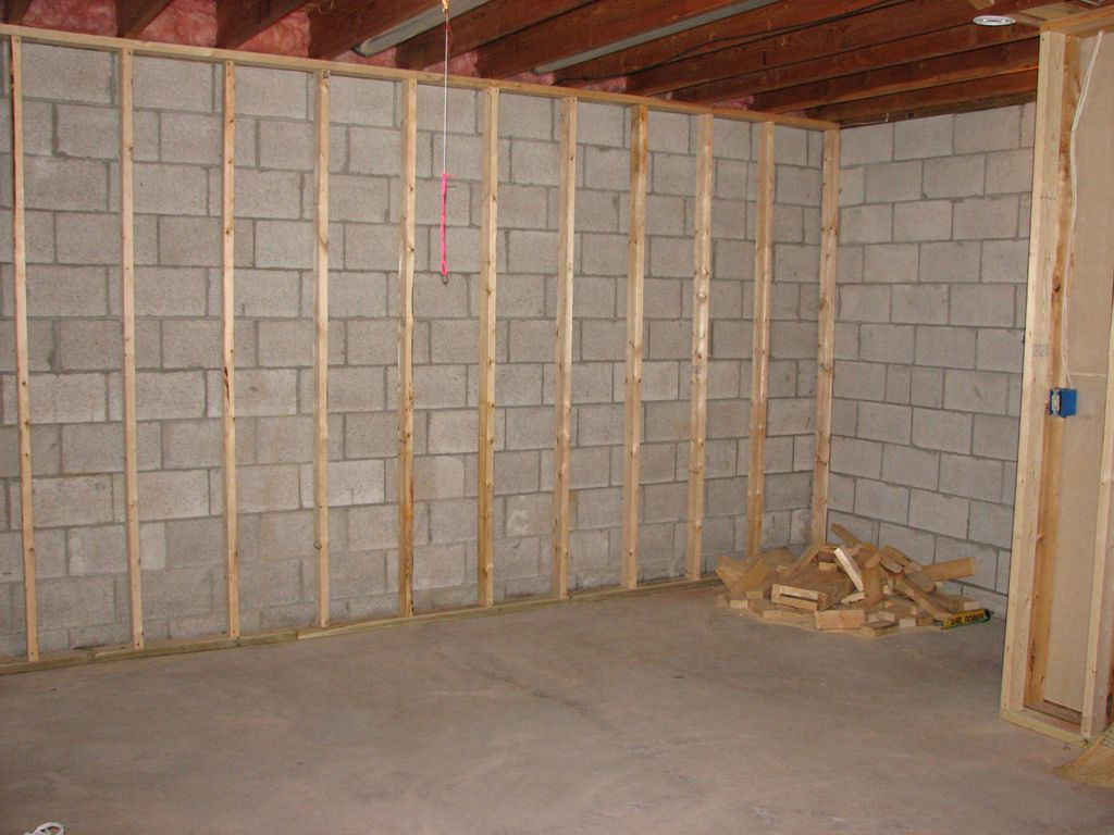 Drywall Directly On Concrete Diy Home Improvement