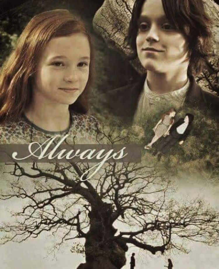Young Lily and Snape, always.