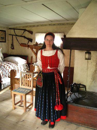 031c6fbfedbd Stockholm, Skansen, Swedish traditional costume by Dirk Hartung, via Flickr