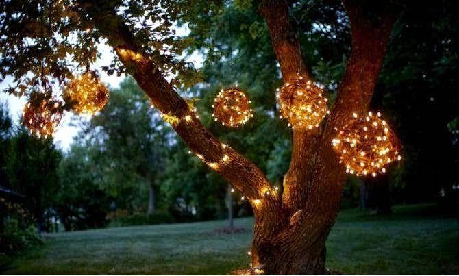 Φτιάξτο μόνος σου φωτιστικά, μπάλες κήπου από κληματόβεργες!  #DIY