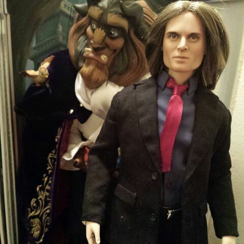 Custom Mr Gold A K A Rumplestilistkin Doll In Storybrooke Fashion