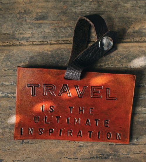 INSPIRATION LUGGAGE TAG | For the ultimate traveler