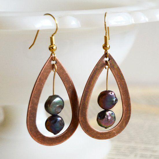 Pendulum Teardrop Earrings