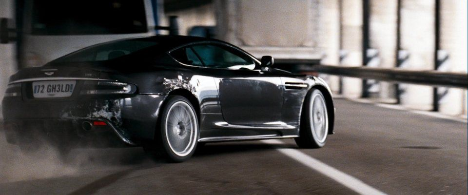 2008 Aston Martin Dbs V12 Driven And Destroyed By 007 In Quantum Of