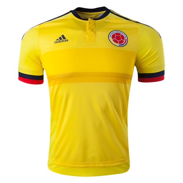 adidas Colombia Authentic Home Jersey 2015