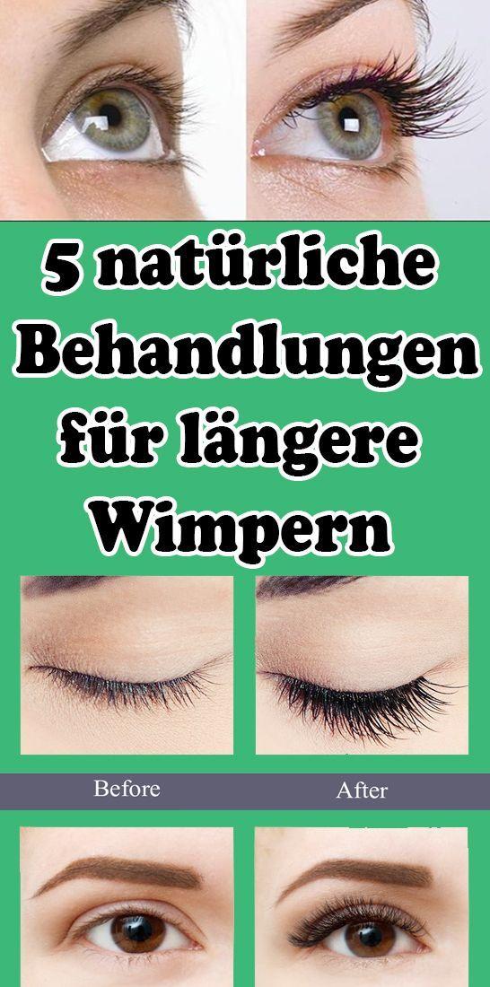 5 natürliche Behandlungen für längere Wimpern   - Gesundheit und fitness -   #Behandlungen #fitness...