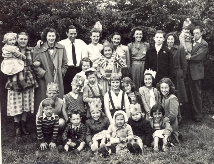 A Happy Party Of Houldsworth Valley Residents Celebrating Queen Elizabeth Ii S Coronation In 1953 Elizabeth Ii Queen Elizabeth Ii The Past