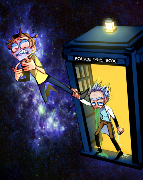 Rick and Morty and Doctor Who!!!! Yes please Rick and