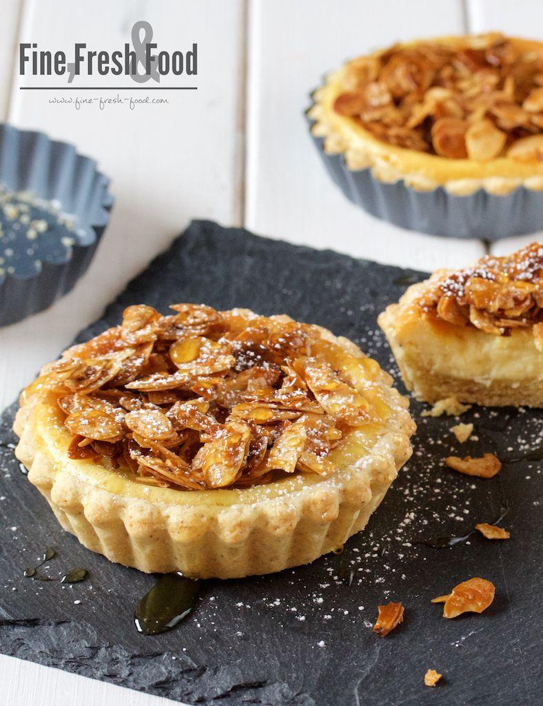 Honig Mandel Tortchen Sweets Kuchen Geback Backen