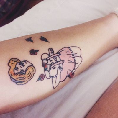 Cry Baby Melanie Martinez Tattoos Melanie