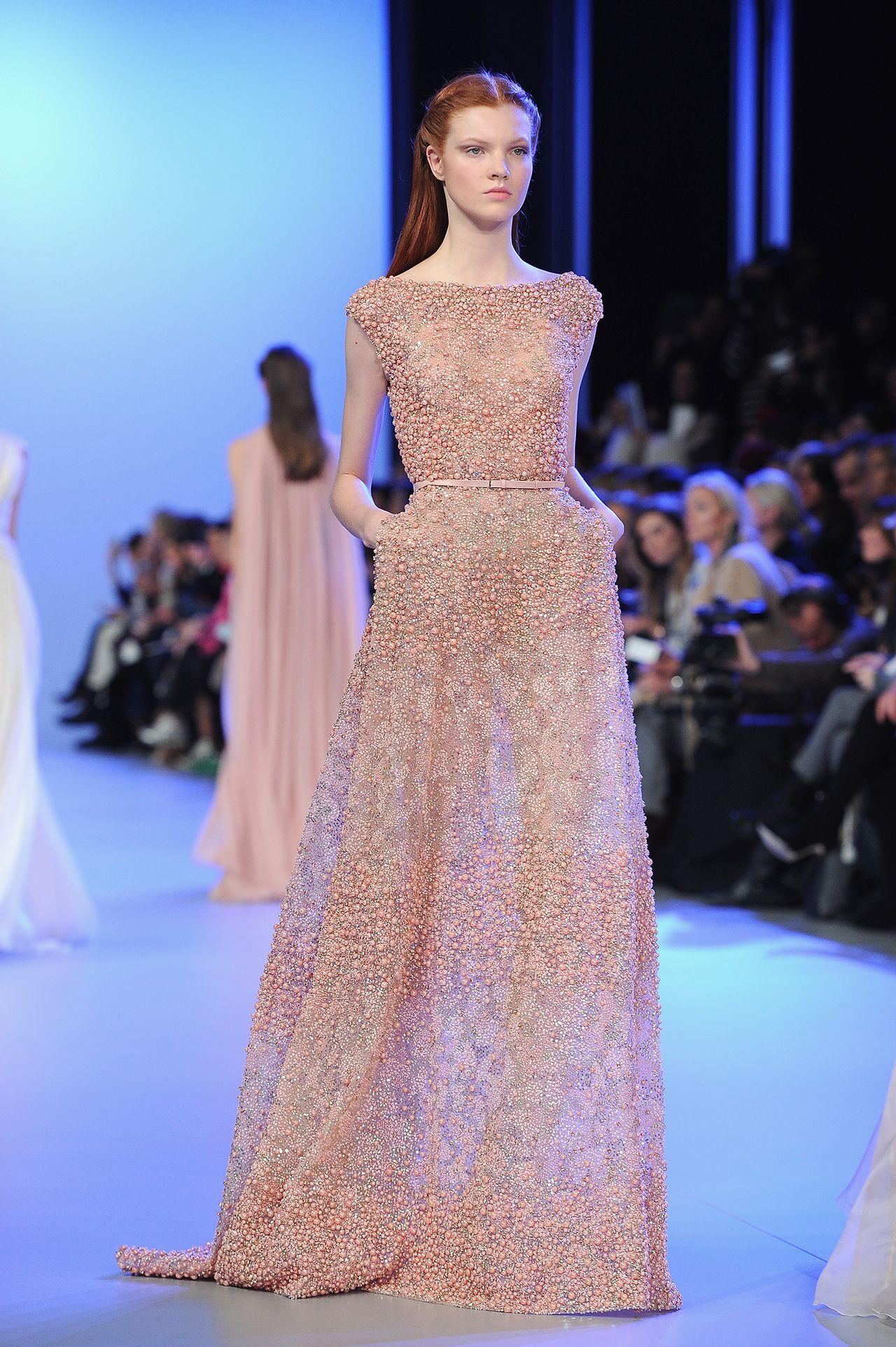 Elie Saab 2014 Spring Couture | Couture | Pinterest | Diseños de ...