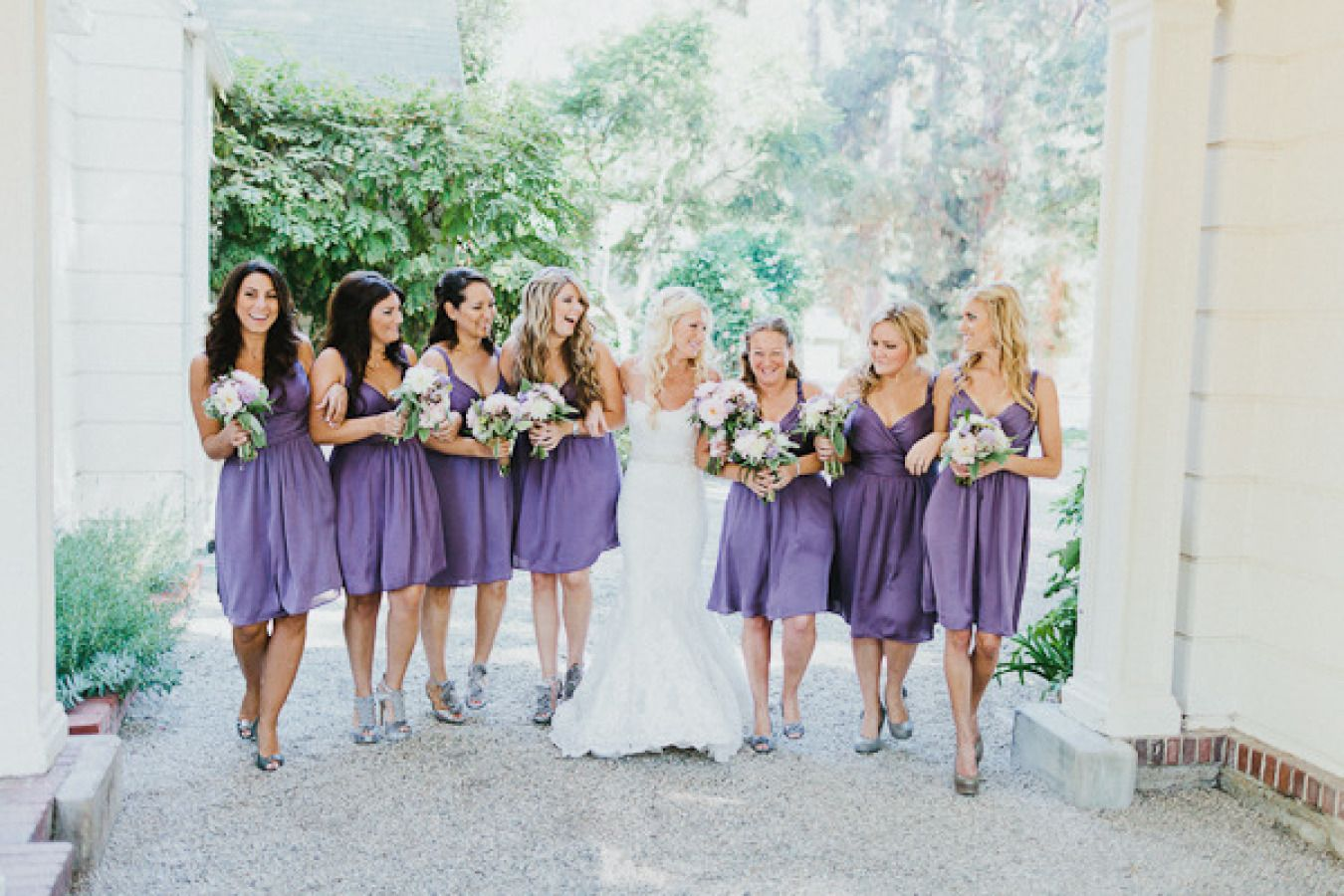 Purple Bridesmaid Dresses | Fab Mood #bridesmaids