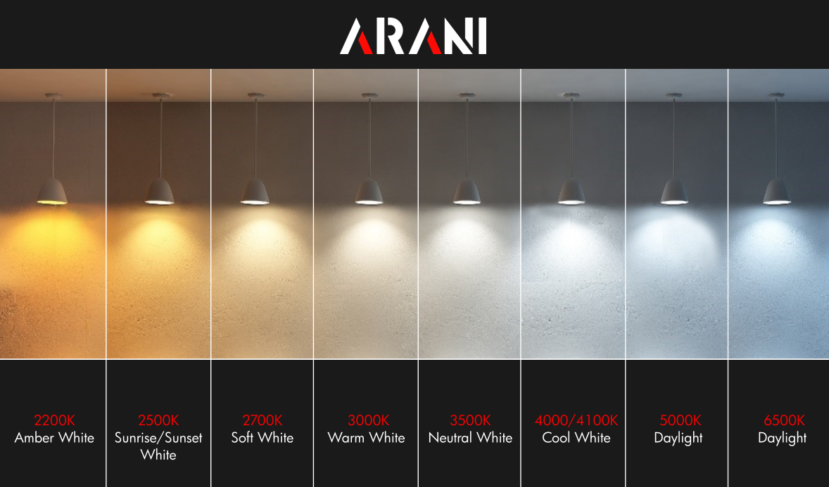 Arani Light 2200 6500 Update Image in 2020 White led