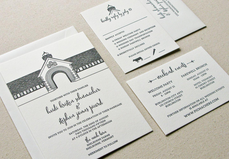 Funky Wedding Invitations Burlington Ontario Collection - Invitation ...