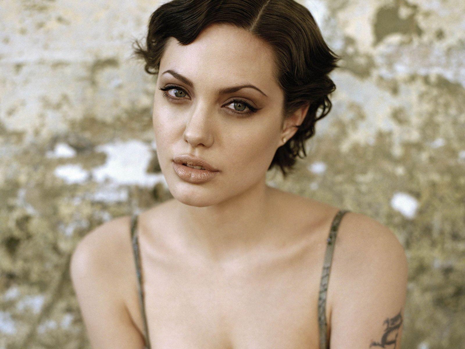 Celebrity Hairstyle Angelina Jolie Short Hairstyles Angelina Jolie Short Hair Short Hair Styles Angelina Jolie Hair