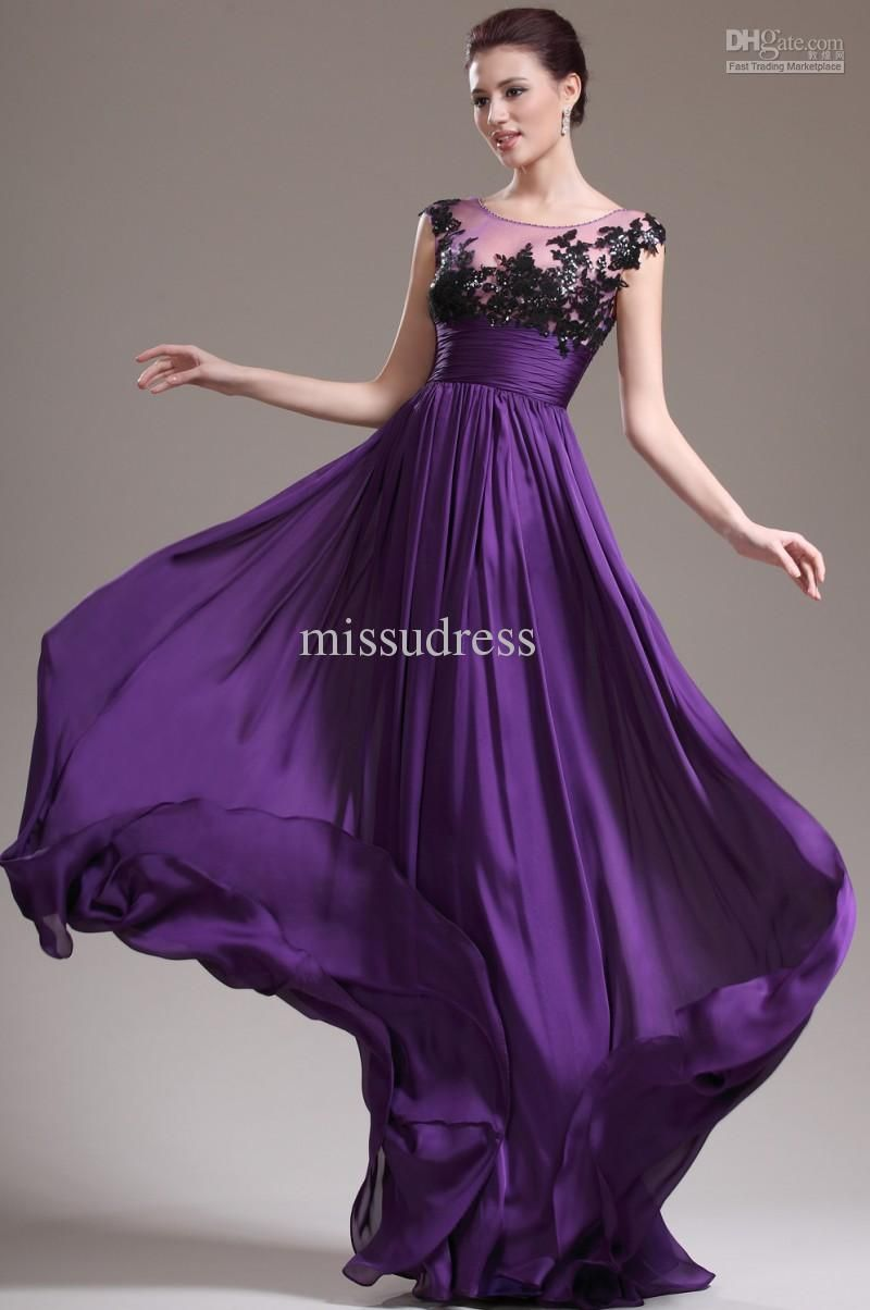 Prom dresses elegant google search purple passion pinterest