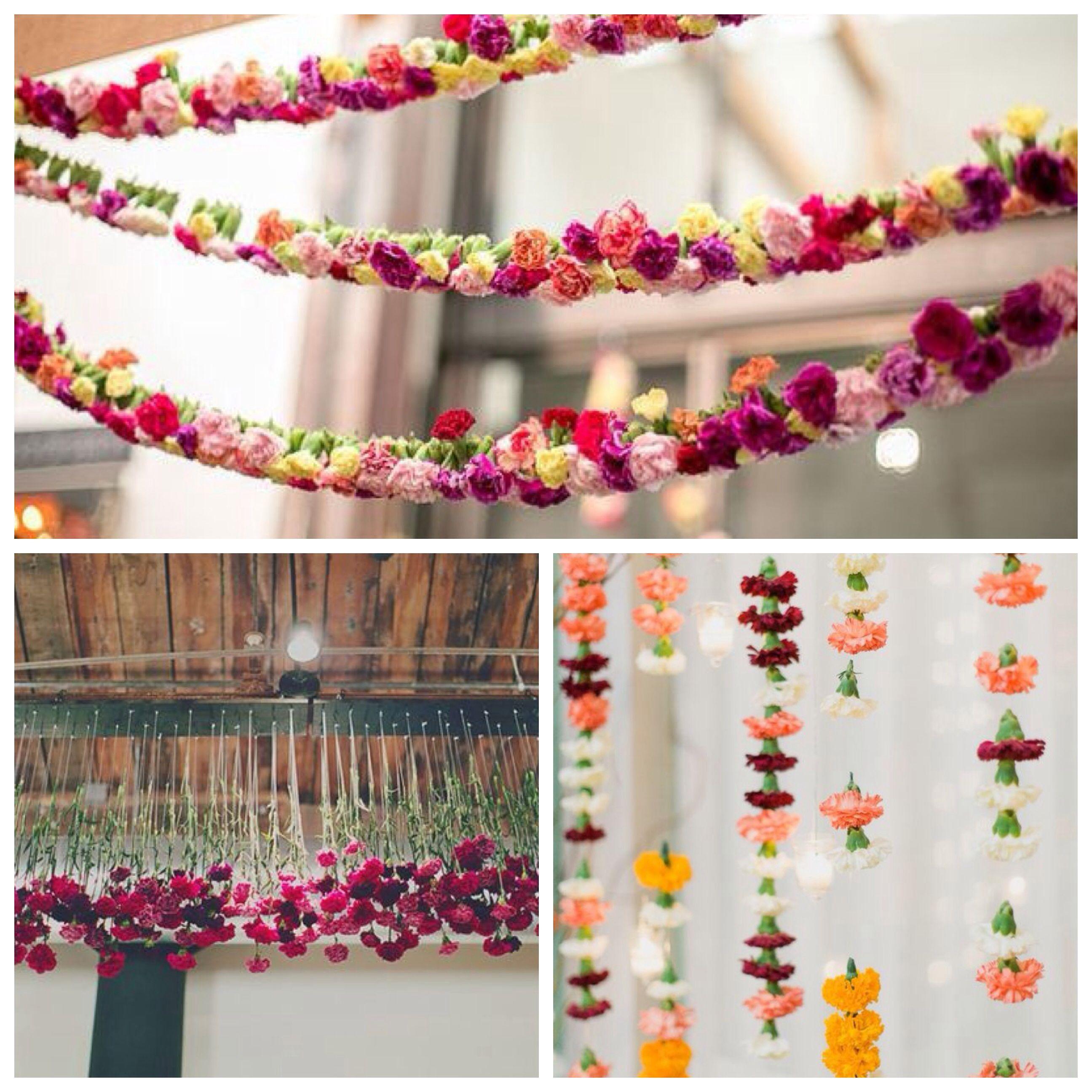 Carnation Wedding Venue Decoration