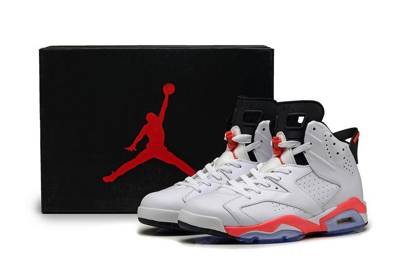6d4df22c04a1a7 正品品質 nike air jordan 6 retro aj6 喬丹6代男子籃球鞋 紅外線 ...