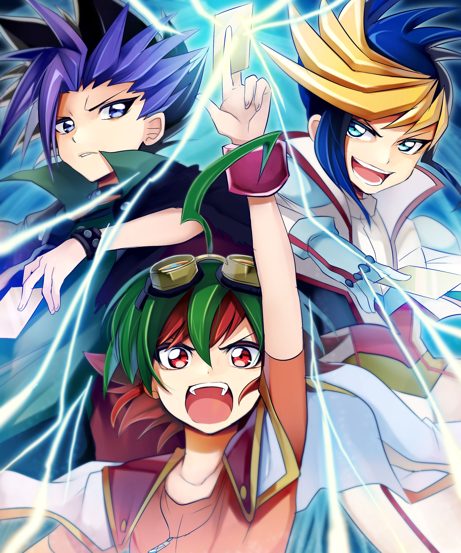 Yu-Gi-Oh! - Yuya, Yuto And Yugo