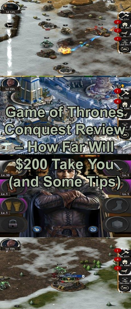 Game of Thrones Conquest Review How Far Will 200 Take