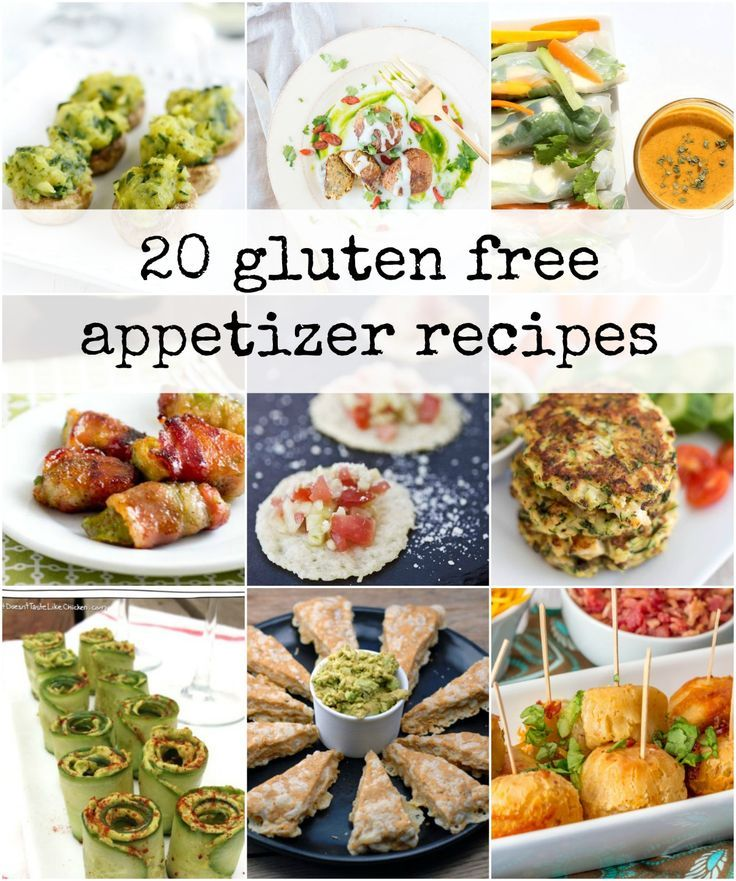 20 Delicious Gluten Free Appetizers