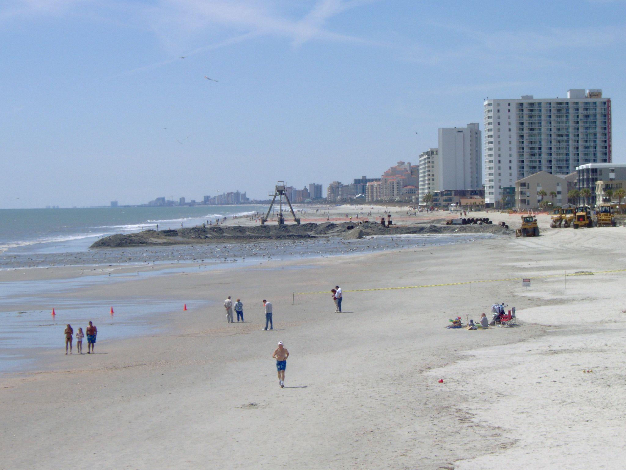 Myrtle Beach Beach, North myrtle beach, Travel