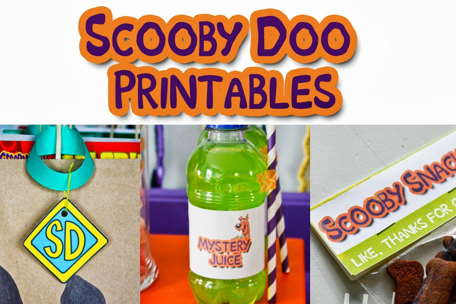 Vixenmade Free Printable Friday Scooby Doo Printables