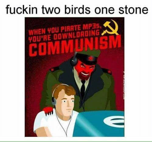 Pirate communists sound metal as FUСK