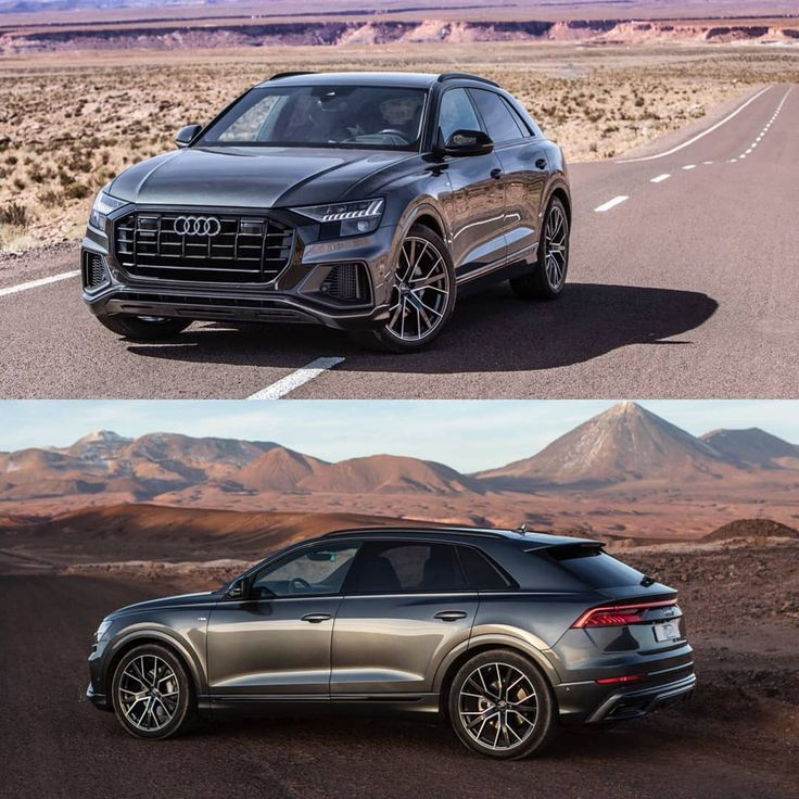 The Brand New 2019 Audi Q8, By @auditography In Atacama In