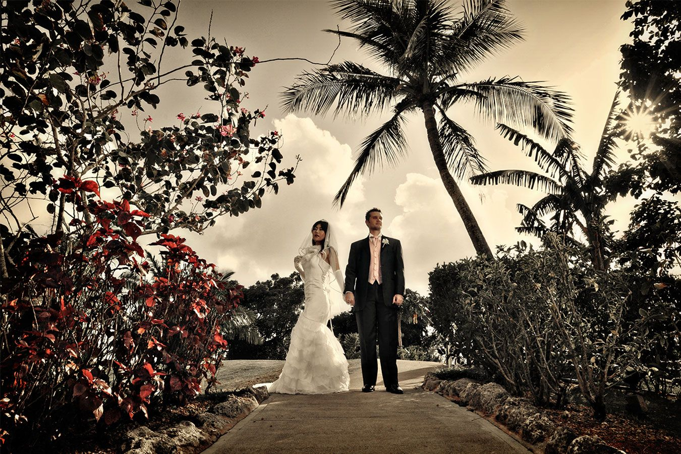 Pre Wedding Photography Kevin Hiroko Shot At Sheraton Hotel Guam