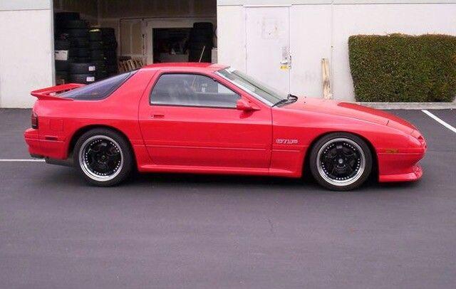 91 Rx 7 Mazda Rx7 Mazda Rx7