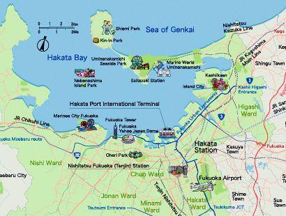 Attractions of Fukuoka and Hakata FukuokaHakata Tourist