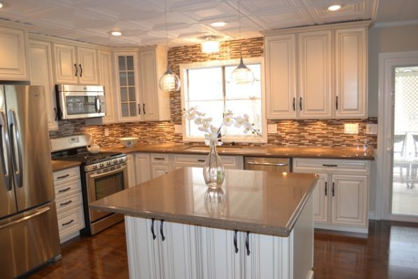 Mobile home kitchen remodel Home kitchen and floors