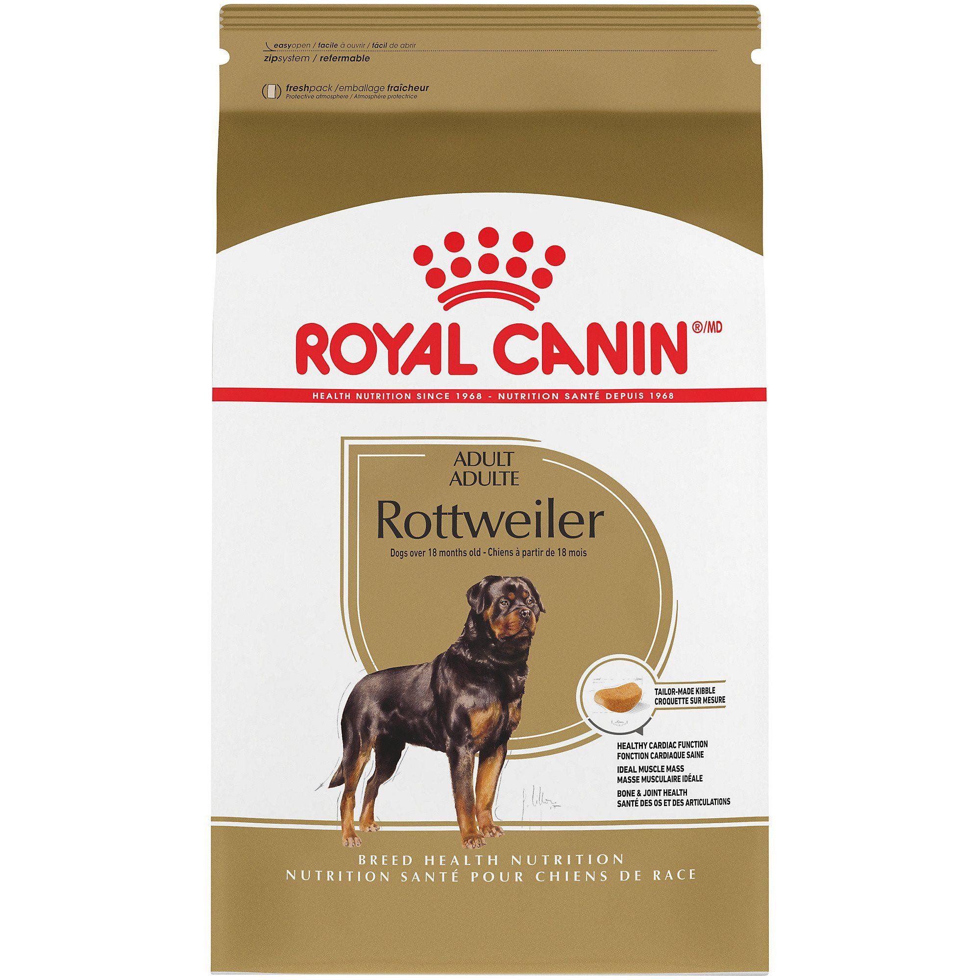 Royal Canin Breed Health Nutrition Rottweiler Adult Dry Dog Food