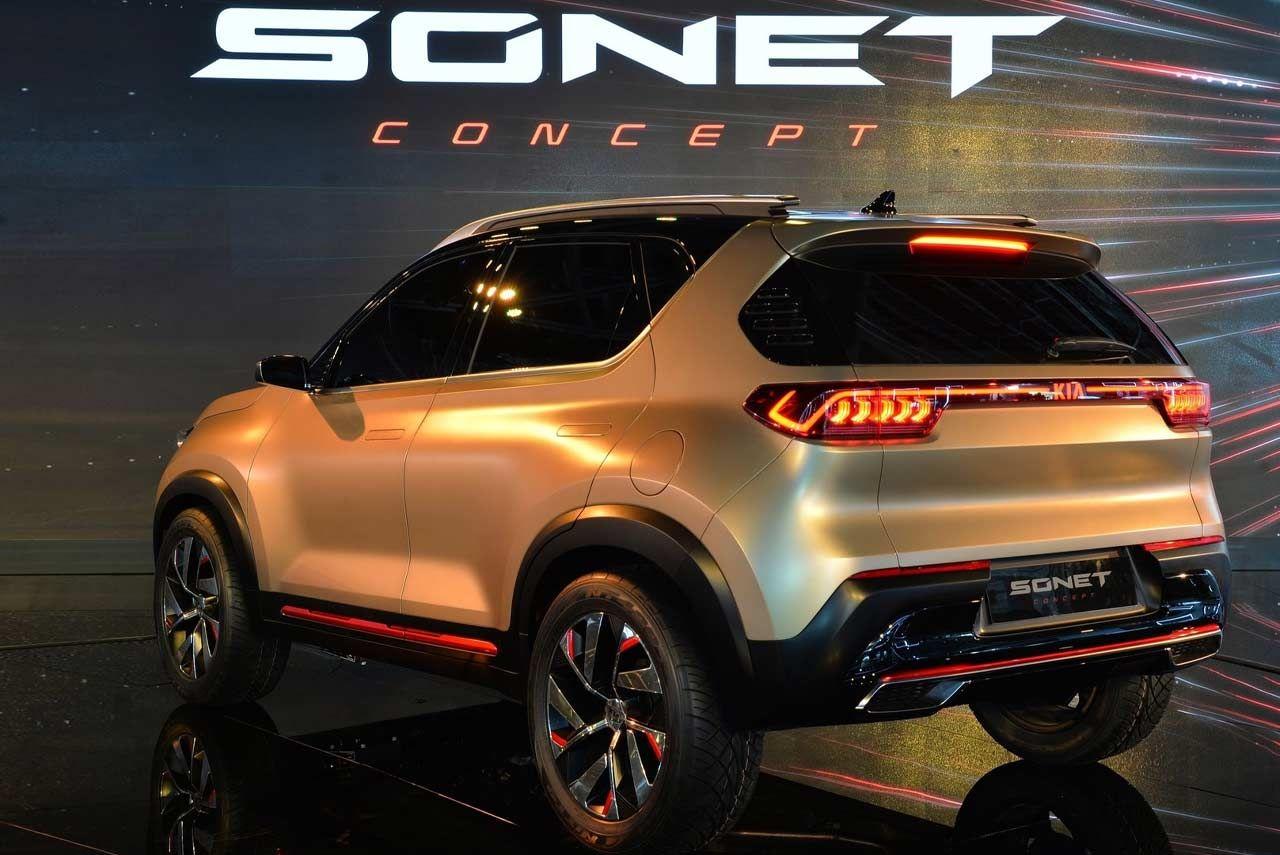 Kia concept unveiled at the Auto Expo 2020