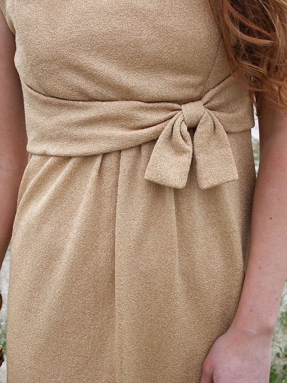 Betty French Vintage Taupe 1950s Dress Mad by dandeliondaydreamer