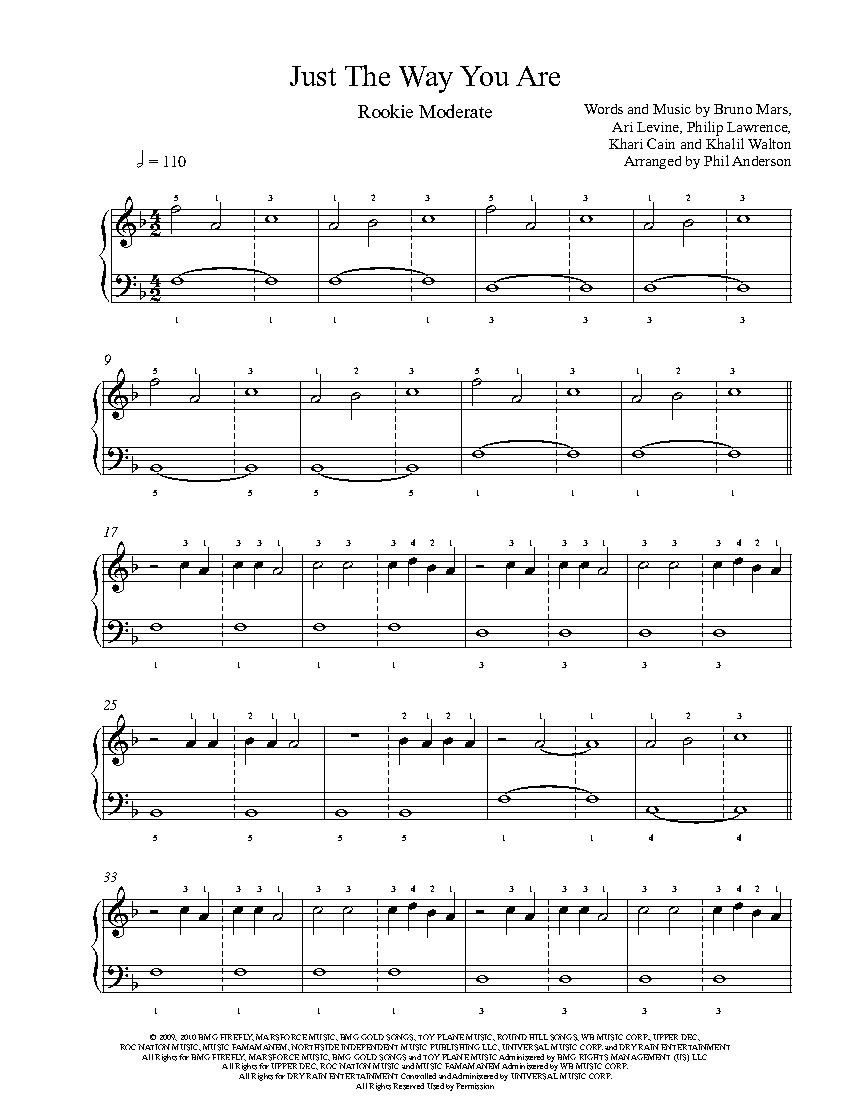 castle on the hill piano sheet music pdf